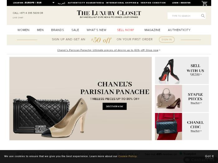 Магазин The Luxury Closet